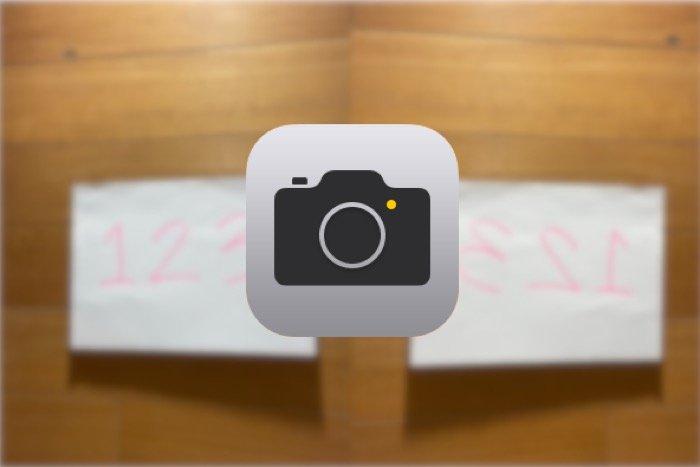 iPhoneで左右反転のセルフィー(自撮り)を撮影する方法