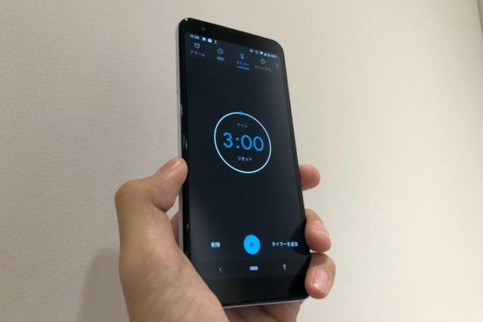 Androidスマホの時計アプリでタイマー機能を使う方法