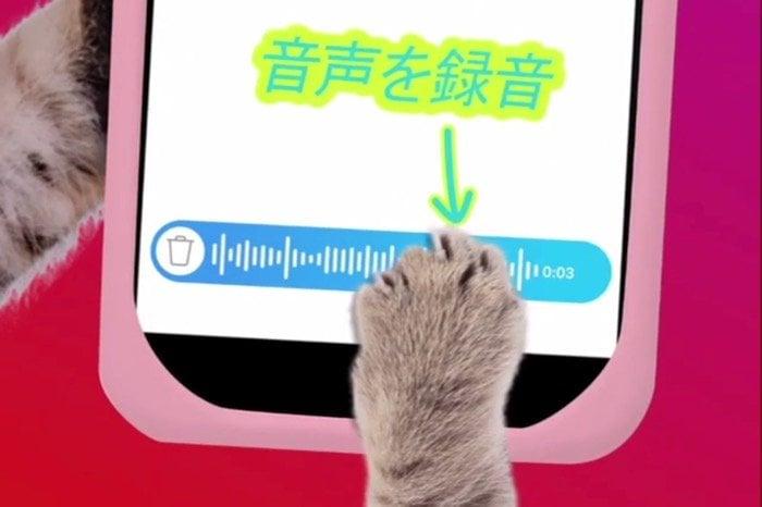 インスタグラム、ダイレクト(DM)でボイスメッセージの送信が可能に