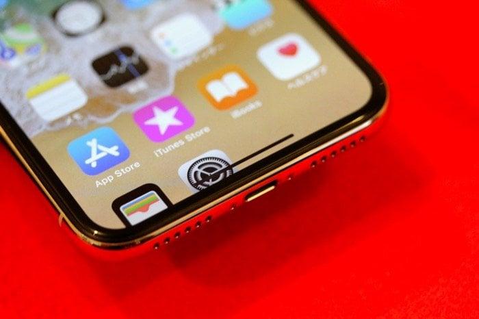 【iPhone X】画面を引き下げる「簡易アクセス」の使い方