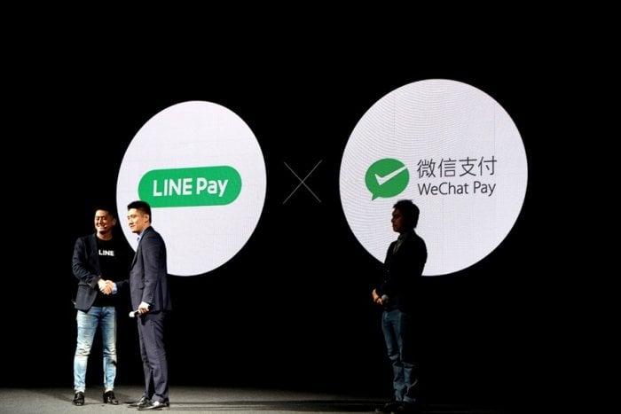LINE Pay、中国の「WeChatPay」と連携 訪日ユーザーが国内LINE Pay加盟店でも決済可能に