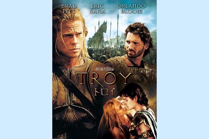 神話を大胆に再解釈、空前のスケールで描くブラッド・ピット主演の超大作映画『トロイ』