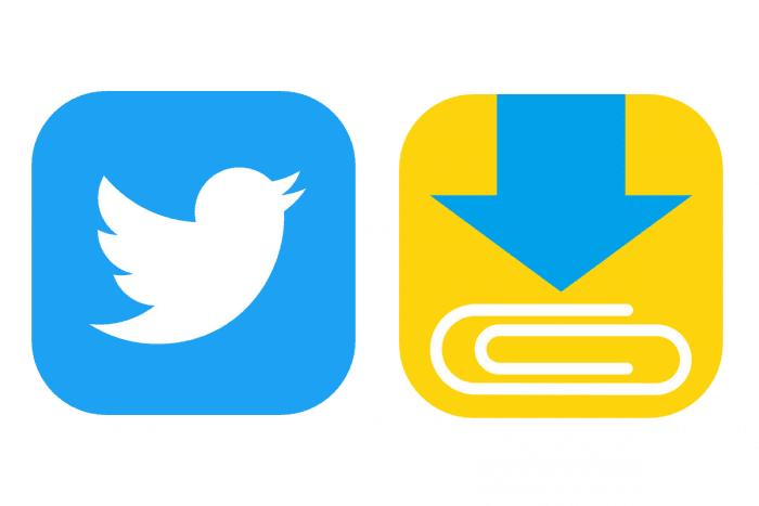 Twitter上の動画をアプリで保存...