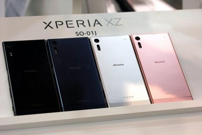 ドコモ「Xperia XZ SO-01J」と「Xperia X Compact SO-02J」が11月2日発売