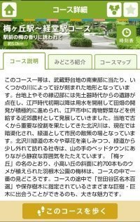 小田急沿線自然ふれあい歩道 お散歩ガイド 解説