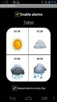Alarm Weather
