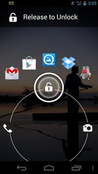 Quick Launch Lock Screen