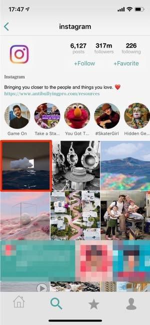 ストーリー・フィードの両方を保存できる「PhotoAround」
