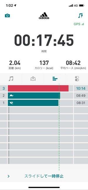 【adidas Running】計測開始