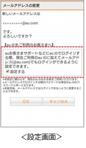 au.comドメイン メールアドレス