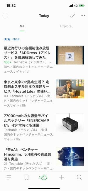 iPhoneアプリ100選 Feedly