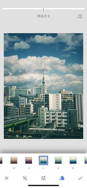 iPhoneアプリ100選 Snapseed