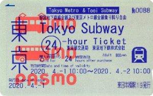 Tokyo Subway Ticket PASMO
