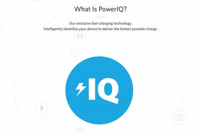 急速充電 PowerIQ
