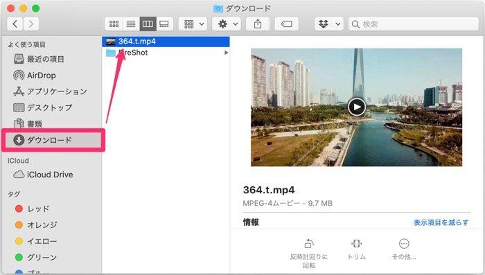 【LINE】動画の保存先(PC)