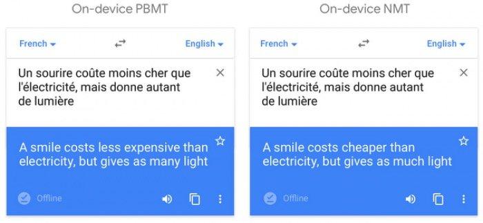 Google翻訳 オンライン翻訳とオフライン翻訳の違い