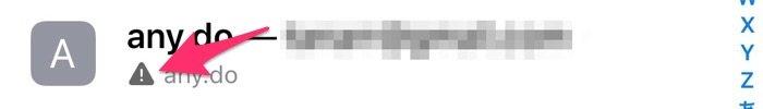 iCloudキーチェーン パスワードの更新