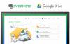 EvernoteがGoogleドライブと連携、ノートへのドライブファイル添付機能を追加