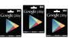 Googleが「Google Play Gift Cards」を正式発表