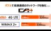 """KDDI、4G LTEとWiMAX 2+の""""ダブルCA""""対応スマホを今夏発売 下り最大225Mbpsでドコモ「PREMIUM 4G」対抗へ"""
