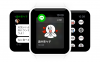LINE、Apple Watchに対応 メッセージにスタンプで返信
