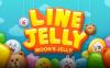 ムーンが主役のパズルゲーム「LINE JELLY」がリリース