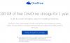 OneDriveの容量が無料で100GBもらえるキャンペーン、Dropboxとの連携で