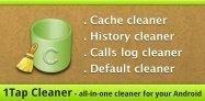 アプリ「1Tap Cleaner」たまったキャッシュをまとめて消去 #Android
