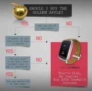 「黄金のApple Watchを買うなんて頭がおかしくなっちゃったの?大金の無駄遣い、非論理的」 ASUS公式アカウントが主張