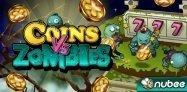 ゲーム「Coins Vs Zombies」攻略要素が強いスロット+コイン落とし #Android