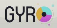 ゲーム「GYRO」回転するホイールで3色の粒子を的確にキャッチしよう #Android