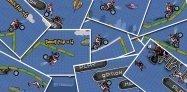 ゲーム「MX Moto」ミラクルジャンプを決めてタイムを競う #Android