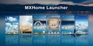 アプリ「MXHome Launcher」扉ページが斬新なホームアプリ #Android