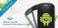 アプリ「Move'n Launch Lite」端末を動かすジェスチャーで操作を行うランチャー #Android