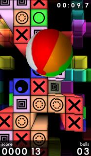 ゲーム「Prism 3D FREE」スマホを傾けて遊ぶボールアクション #Android