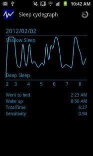 アプリ「Smart Alarm Lite」あなたの眠りを検出して最適なタイミングで起こしてくれるアラーム #Android