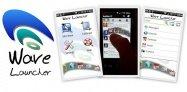 アプリ「Wave Launcher」波形のランチャーがスタイリッシュ #Android