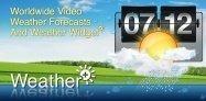 アプリ「Weather+ Free」世界各国の天気が分かる #Android