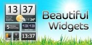 アプリ「Beautiful Widgets」美麗ウィジェットの詰め合わせ #Android