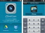 クラウド連携カメラ「CloudCam」は、撮影だけでなくアルバムからのアップロードも可能なアプリ #iPhone