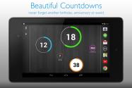 バランスの妙、Holoスタイルの「CountDown Widget」ならシンプルだけど大事な日を忘れず意識 #Android