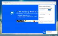 スマホの通知をデスクトップ上でも確認できるようにする「Desktop Notifications」