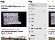 Googleリーダー後継として注目、「Digg」のAndroidアプリがリリース