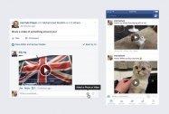 Facebook、コメント欄にも動画の投稿ができるように