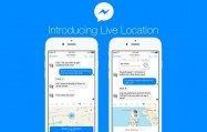 Facebookメッセンジャー、リアルタイムで位置情報を共有する機能を追加