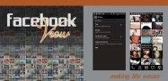 アプリ「FacebookView Lite For Facebook」友達が投稿した写真をホーム画面に表示するライブ壁紙 #Android