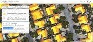 Googleマップで自宅ソーラーパネル設置時に節約できる金額を表示する「Project Sunroof」が公開 太陽光発電を促進
