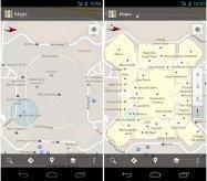 スマホが屋内地図になる Android版モバイルGoogleマップがアップデート
