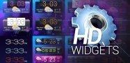 アプリ「HD Widgets」広域の天気予報がうれしい綺麗なウィジェット集 #Android
