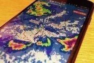 スマホで「雨雲の動き」を3秒以内に確認できる2つのテクニック【iPhone/Android】